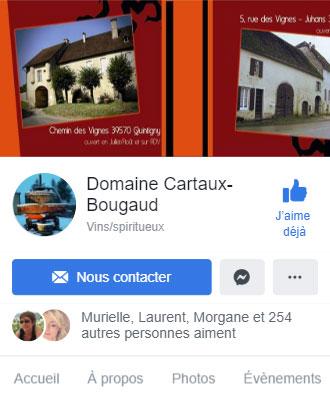 Vins cartaux Facebook