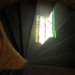 Escaliers du château